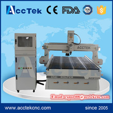 acctek hot sale cnc wood carving machine 1325 cnc router with vacuum table and pump