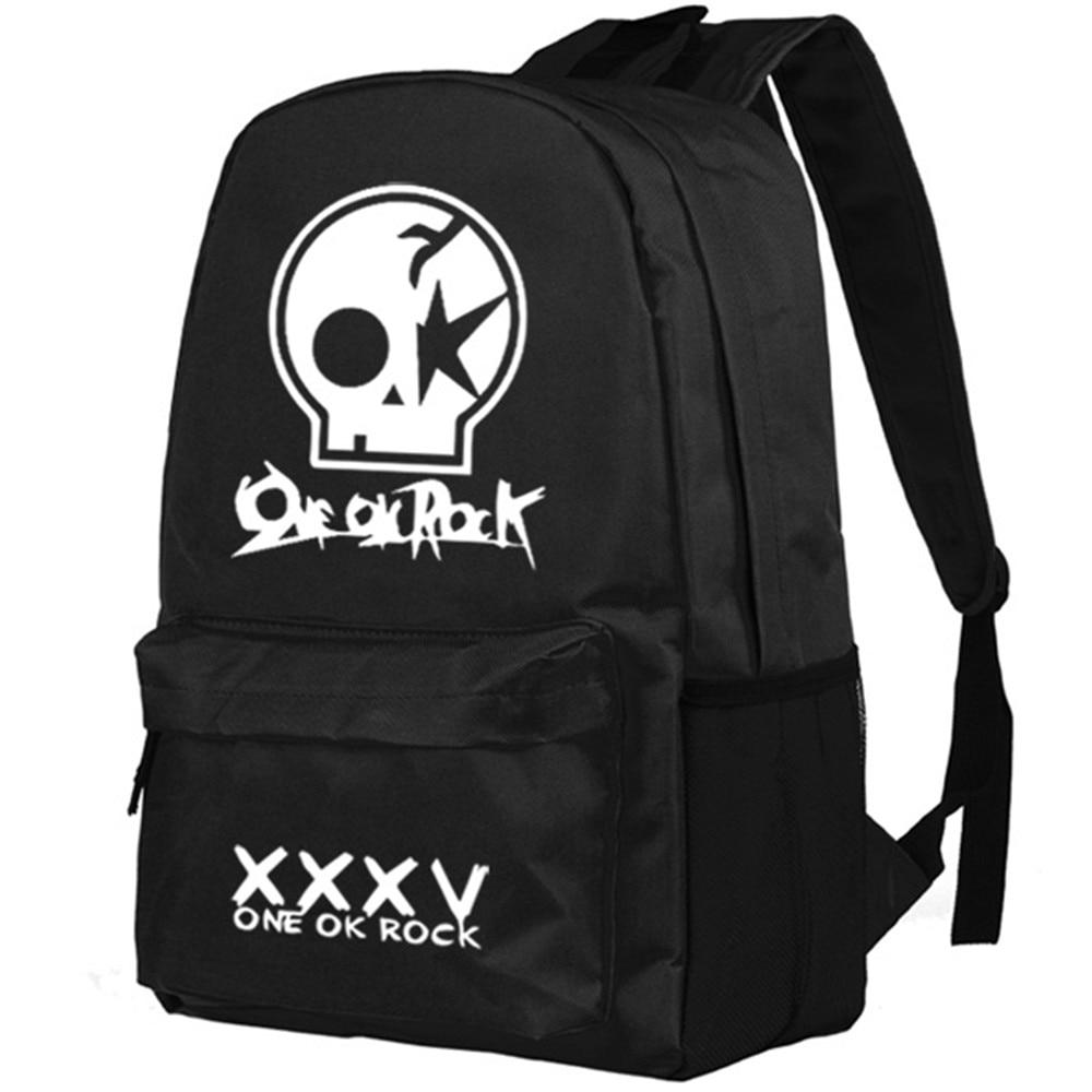 Zshop One ok Rock Backpack Oxford Shoulder Bag for Boys School Bag<br>
