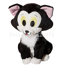 New Minnie Pet Figaro Cat Plush 15CM Kids Stuffed Animals Toys for Children Gifts(China)