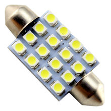 Festoon Led Light!! 500 PCS C5W 3528 1210 16 SMD 31mm / 36mm / 39mm / 41mm Festoon Dome LED Light Bulbs Mix Size Led Dome Lights