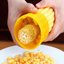 Tools Thresher Corn-Stripper-Cutter Plane-Peeler Kitchen-Gadgets Manual-Rotation Yellow