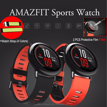 Original Xiaomi AMAZFIT Sport Smart Watch GPS Real-time Heart Rate Monitor Track Wristband English Version 512MB 4GB for Android