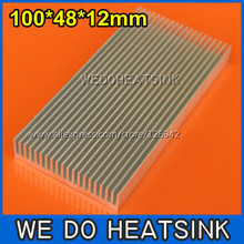 WE DO HEATSINK 5pcs 100x48x12mm DIY LED Power Useful Aluminum Heat Sink(China)
