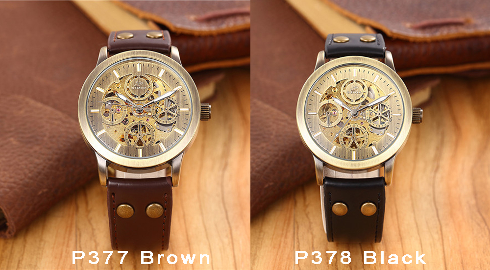 mechanical watch men 377-378
