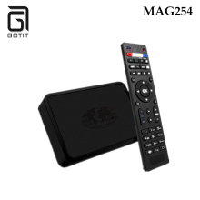 GOTiT 2017 New MAG254 IPTV Box+USB WiFi as Gift Linux System 2.6.23 STiH207 Support Arabic French IPTV Media Player Smart TV Box