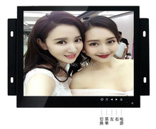 10 inch lcd computer monitor Open Frame Industrial monitor metal monitor with VGA AV BNC HDMI(China)