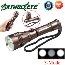 Cycling Bicycle Front Head Flashlight variable focus waterproof performance 3 Modes XML T6 LED Flashlight Torch Lamp Light M23(China)