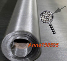 1pc 304 stainless steel 100 mesh filtration 30x100cm 12''x40'' woven wire(China)