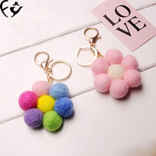 Lovely candy Maomao mobile phone pendant mobile phone pendant chain Car Keychain(China)