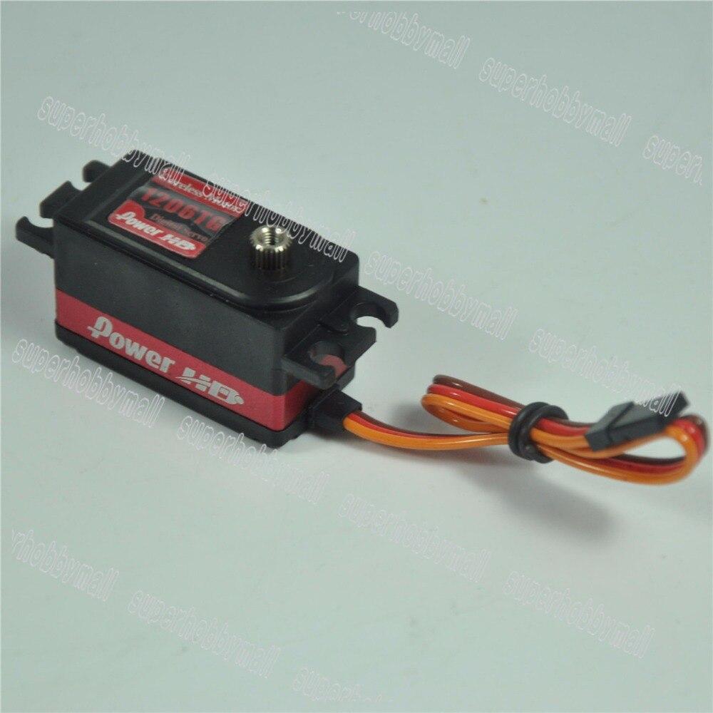 Power HD 1206TG 7Kg 0.06S Digital Servo Touring Drift For Car FUTABA 4PLS<br>
