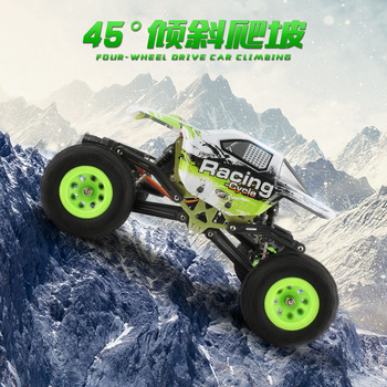 RC Car WLToys 24438 1:24 Scale Remote Control Car Off-Road Vechile 4WD Racing Rock Crawler Electric Toy Car Model