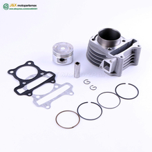 GY6 50cc 80cc 100cc Cylinder 47mm 50mm Cylinder Piston Rings assy 4 Stroke Scooter Moped ATV with 139QMB 139QMA engine(China)