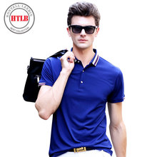 New Business Boss Brand Fashion Ralphmen Polo Shirts Men 2017Soft Cotton Solid Casual Classic Male Polo Shirts Camisas Masculina(China)