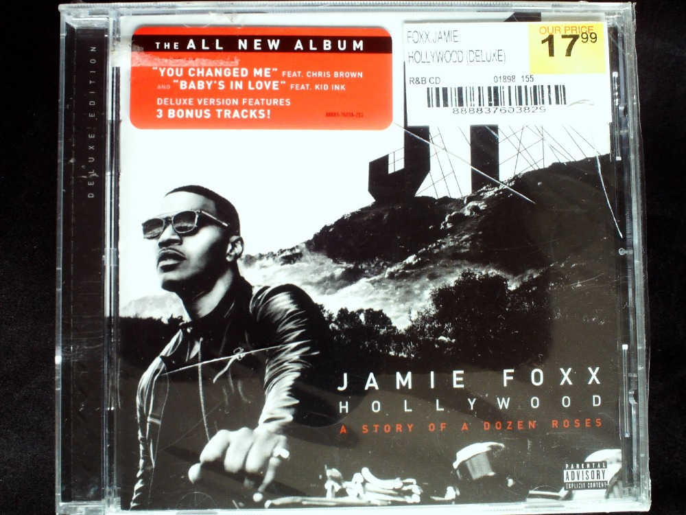 Jamie Foxx - Hollywood CD Sealed Deluxe Version  -  41CD Store store