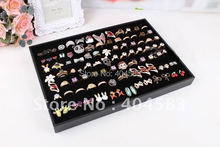 Best selling Ring Display Tray Stand Holder Jewelry Display Stand Stud Earring Display Tray