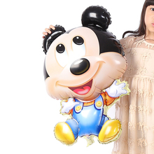 Mickey Big Balloon, Cartoon Foil Birthday Party Balloon Airwalker Ballons for Kids Baby Toys Party Decorate Balls for Holidays
