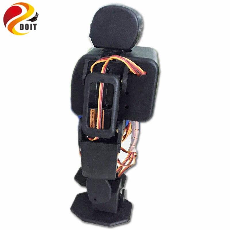 DOIT ViVi Humanoid Robot Plen2 Compatible with Arduino 3D Printer Open Source for DIY RC Robot Contest Graduation Toy Model<br>