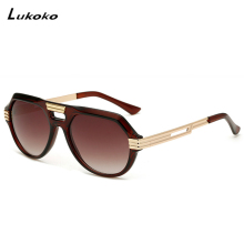 Lukoko Original Sunglasses womens Cool Vintage Brand Design Female Sunglasses Lenses Goggles Shades Masculino(China)