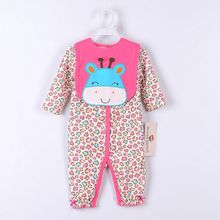 PaYiFang Baby Girls Suits Baby Gear 2pcs sets Children's Trousers Bibs Sock Rompers HOT SALE(China)