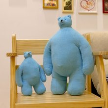 Free Shipping 50cm large teddy bear plush toys, creative small head cartoon bear doll pillow, couple gifts, baby toy