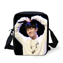 FORUDESIGN Japanese School Style Crossbody Bag BTS EXO Kpop Bag for Teenagers Hip Hop Girls Boys Blackpink Daily Messenger Bags(China)