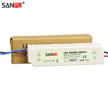SANPU SMPS 24v Power Supply for LED 60w Waterproof Constant Voltage Switch Driver 220v 110v ac dc Lighting Transformer IP67(China)