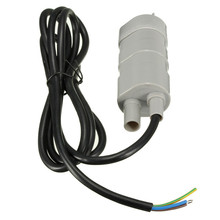12V DC 1.2A 5M 14L/Min 600L/H For Solar Aquarium Three Core Micro Submersible Motor Water Pump Low Noise Water Pumps(China)
