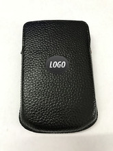 Leather Pocket case Carry Case Sleeve Skin for blackberry q10 case leather Pull case
