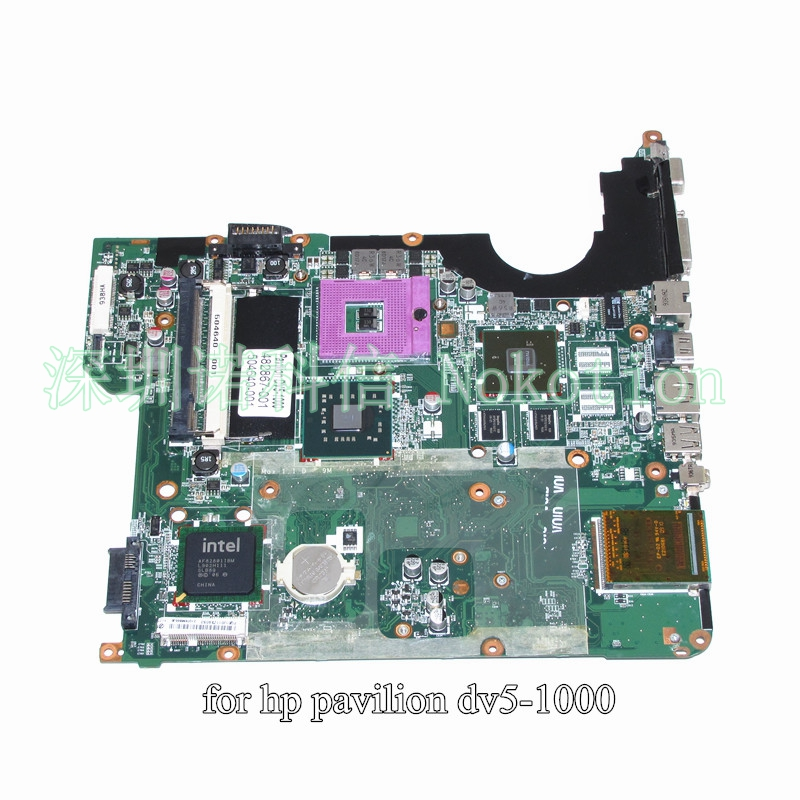 NOKOTION 504640-001 482867-001 For HP Pavilion DV5 DV5-1000 Series Intel Motherboard PM45 DDR2 Nvidia graphics