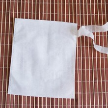 boiled bags Non-woven Fabric Filter bags with tie cloth Plant medicine powder bag spice bags 20pcs/lot(China)