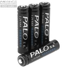 PALO 1.2V AAA 600mAh Ni-MH Rechargeable Battery Safety Relief Valve Remote Control / Toy Camera - PowerOne Store store