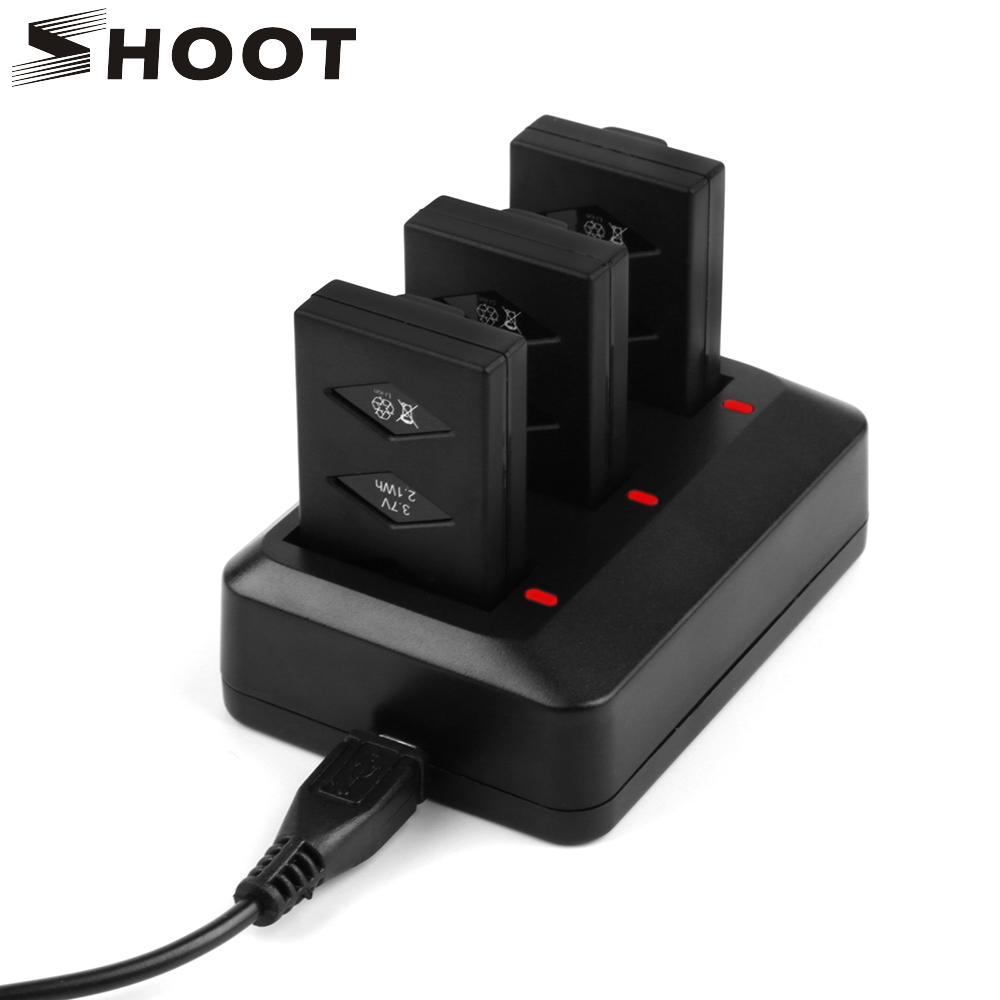 SHOOT Morpilot 3-Pack 3.7V 600mAh 20C Li-po Battery for Parrot Mini Drone for Parrot Jumping Sumo Swing Mambo Rolling Spider<br>
