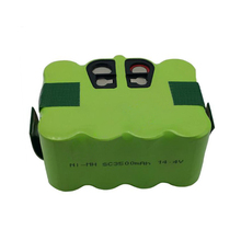 14.4V 3500mAh SC Ni-Mh Sweeper Robot Battery for Vacuum Cleanner KV8 /XR210 Series /Fmart R-770 FM-018 FM-058/ Meidea/Zebot