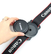 Camera Lens Cap Holder Keeper Buckle for 52mm 58mm 67mm Size Canon Nikon Pentax(China)