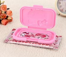 Hello Kitty My Melody Car Room Wet Wipes Tissue Reusable Lid