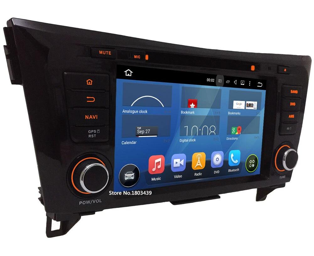 32GB ROM 2GB RAM 8″ Octa Core Android 6.0 DAB+ 3G/4G WiFi USB Car DVD Multimedia Player Radio Stereo For Nissan X-Trail Qashqai