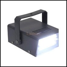 High quality AC110V 220V EU/US Plug 3W 24 LED DJ Strobe Flash Lights Disco Party Club Stroboscope stage light effects