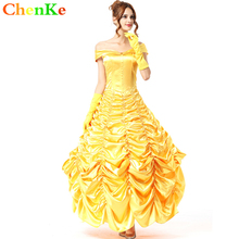 ChenKe Princess Dress Women Cinderella Snow White Cosplay Uniforms Fairy Tale Christmas Halloween Costumes for Women(China)