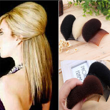 2017 Hot Fashion Women Girl  Princess Modelling Fluffy Diy Hair Styling Sponge Clip Stick Bun Maker Braid Tool Accessories Comb