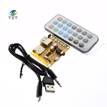 APP control wireless bluetooth audio receiver plate 4.2 bluetooth module, Bluetooth stereo converted nondestructive bluetooth(China)