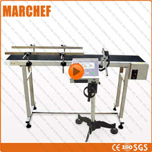 CE ISO Bar / QR code Inkjet  printer for tube/ cap /bottle/ paper/ plastic/  metal