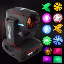 (Ship From USA) 330w Beam Moving Head Light 15R Osram DMX 512 Prism Zoom Spot Stage 16Ch(China)