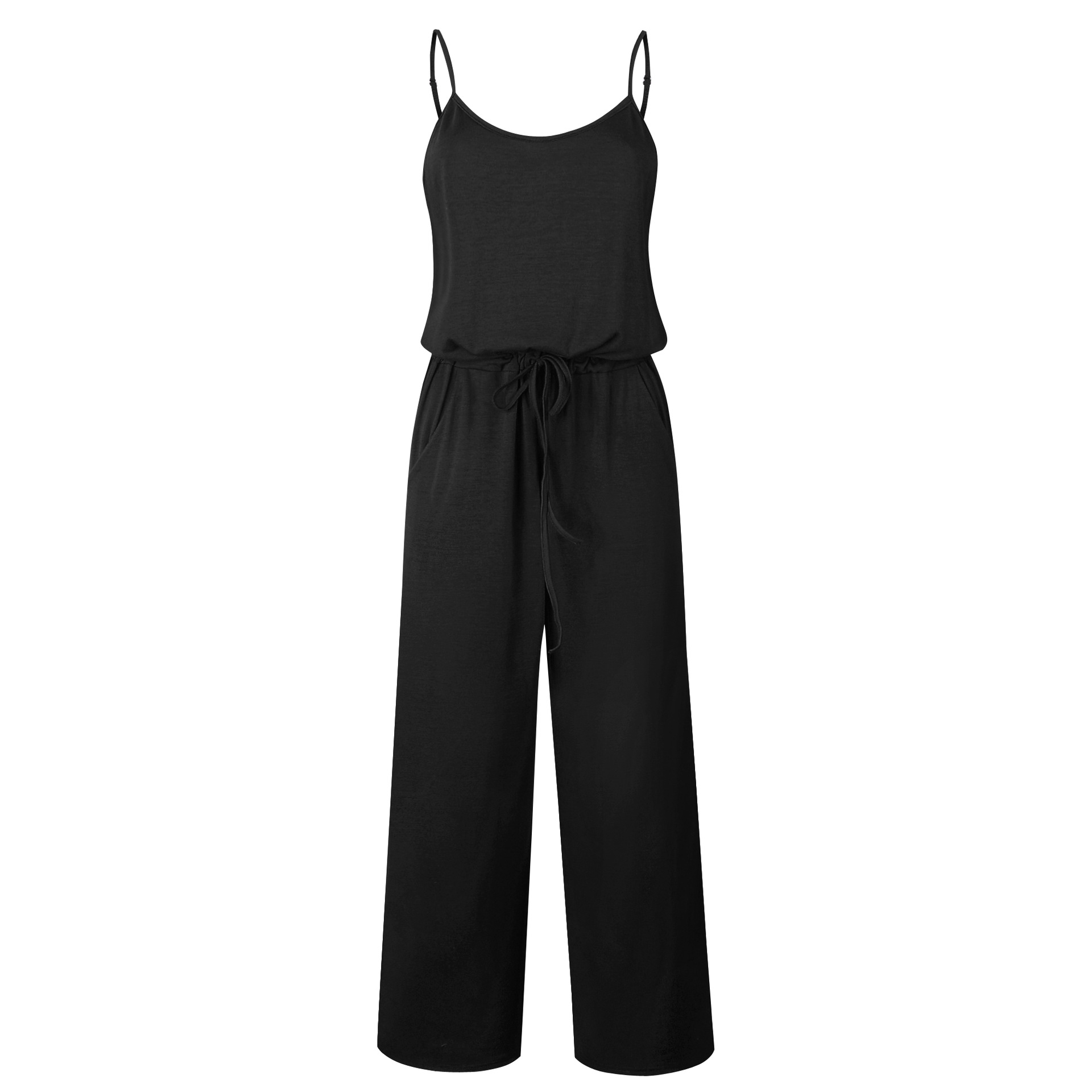 Spaghetti Strap Jumpsuit Women 2018 Summer Long Pants Floral Print Rompers Beach Casual Jumpsuits Sleeveless Sashes Playsuits 56