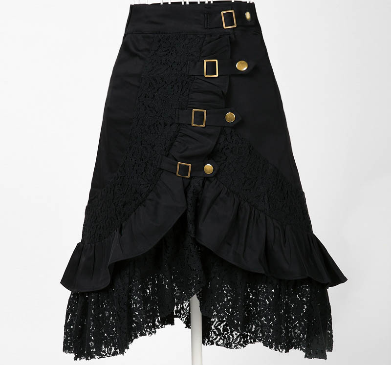 Whole Clothing Women S Party Black Skirts Lace Steampunk Free Dropshipping Uk Online Vintage Ping Hippie Boho In From
