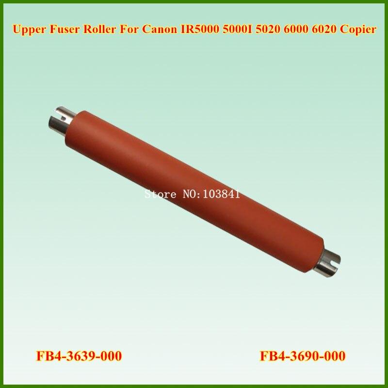FB4-3639-000 FB4-3690-000 Upper Fuser Heat Roller for Canon IR5000 IR5000I IR5020 IR5020I IR6000 IR6000I IR6020 IR6020I<br>