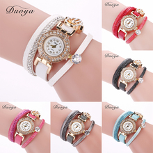 6 Colors Choice Seasonal Female Chic Diamond Trendy Circle Alloy Watch with a Luxury Watch Face to Make You Become Different(China)