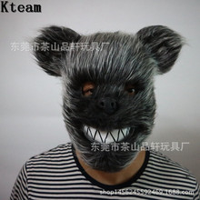 2017 Halloween Cosplay TOY Scary Killer Teddy Bear Mask Adult Evil Psycho Halloween Costume Fancy Dress Scary Bear Head Mask Toy