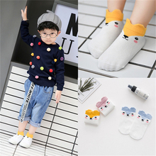 Buy 3 Pairs/lot Spring Autumn Cotton Baby Socks Boys Girls Socks Breathable Warm Kids Socks infant toddler floor Baby Sock Cartoon for $2.64 in AliExpress store