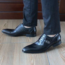 FELIX CHU Black Formal Oxford Dress Shoes For Men Cow Genuine Leather High Quality Comfortable Office Work Suit Shoes 185-82