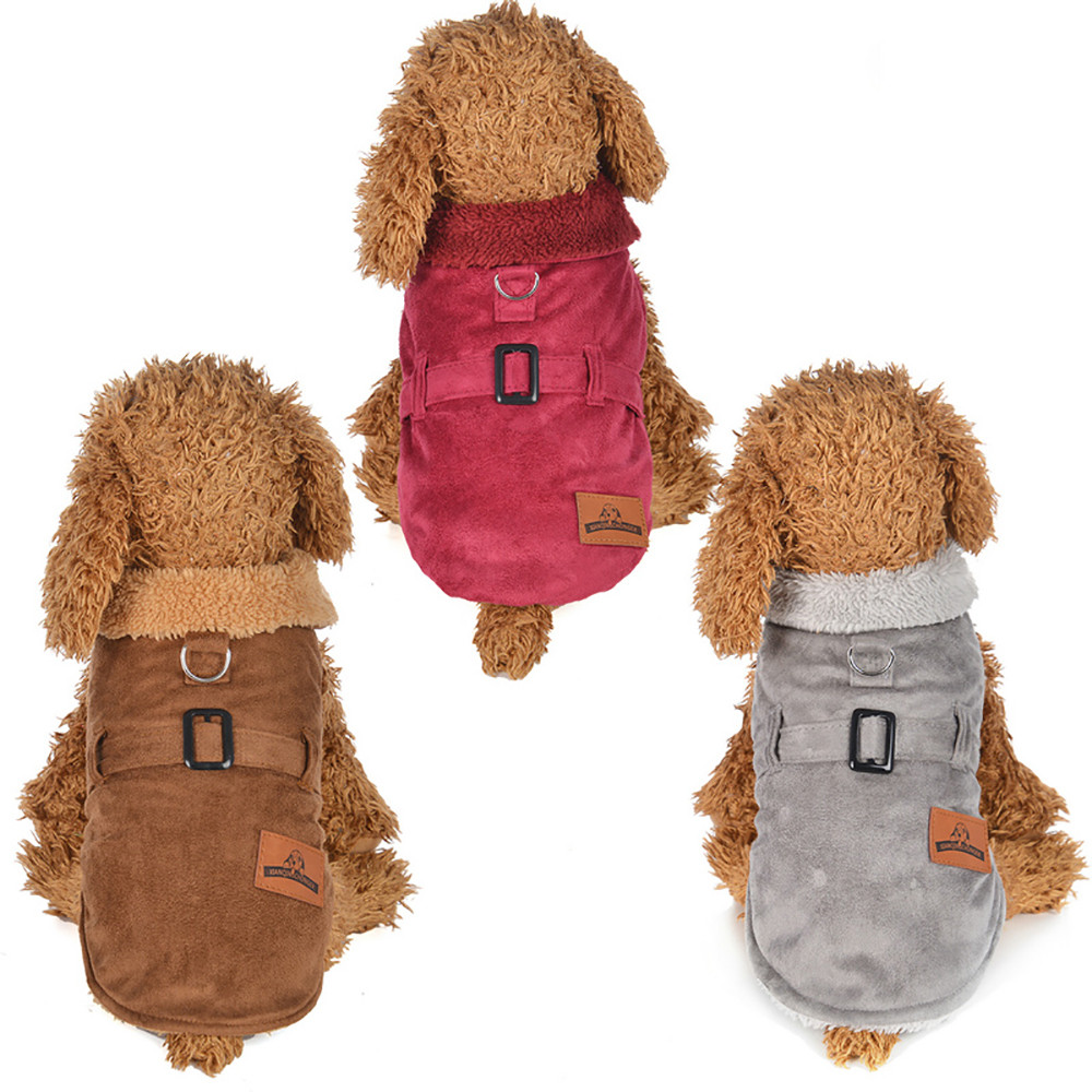 dog christmas clothes jackets for dogs winter pet dog coat winter puppy jacket outfit warm Gifts for the New Year noel 2019